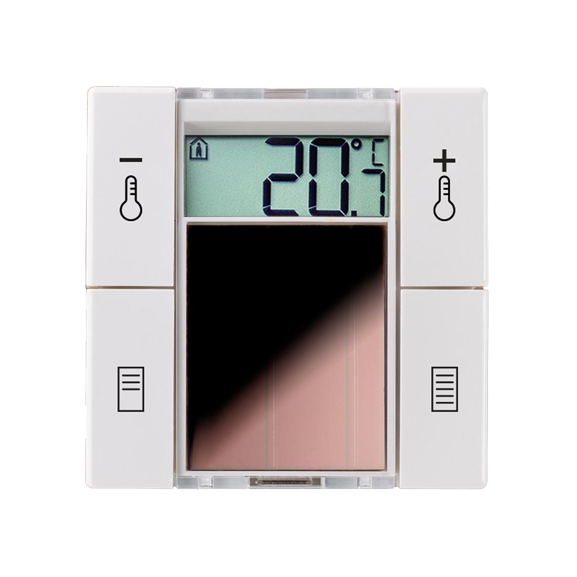 SR06 LCD 2T+Blind reinweiß glänzend ohne Rahmen Produktbild