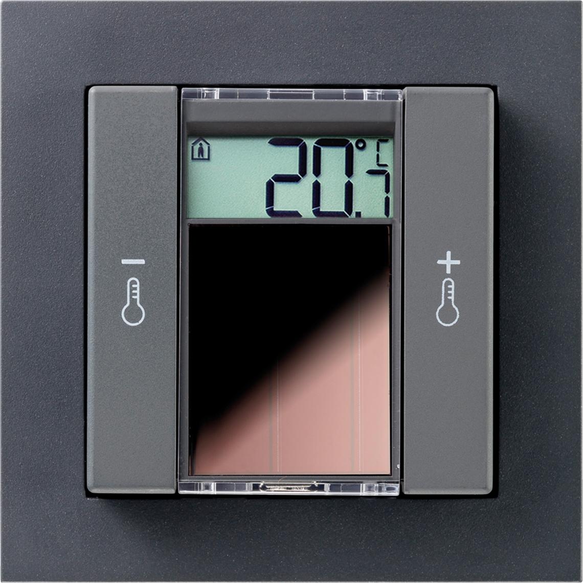 SR06 LCD 2T Gira E2 anthrazit Produktbild
