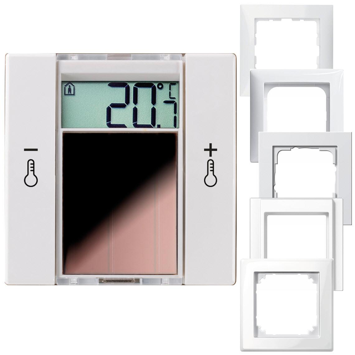 SR06 LCD 2T reinweiß glänzend ohne Rahmen Produktbild