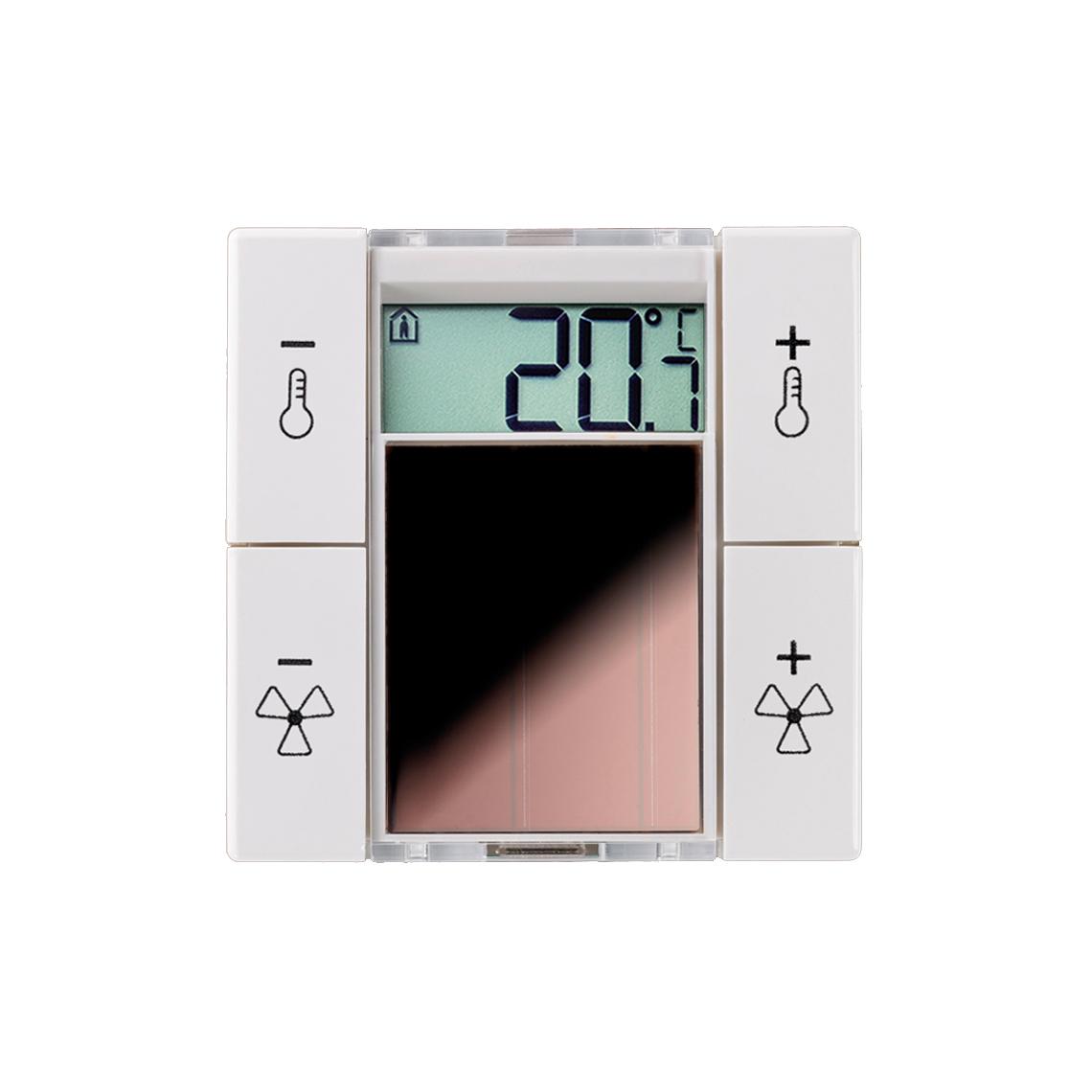 SR06 LCD 4T BTyp1 reinweiß glänzend ohne Rahmen Produktbild