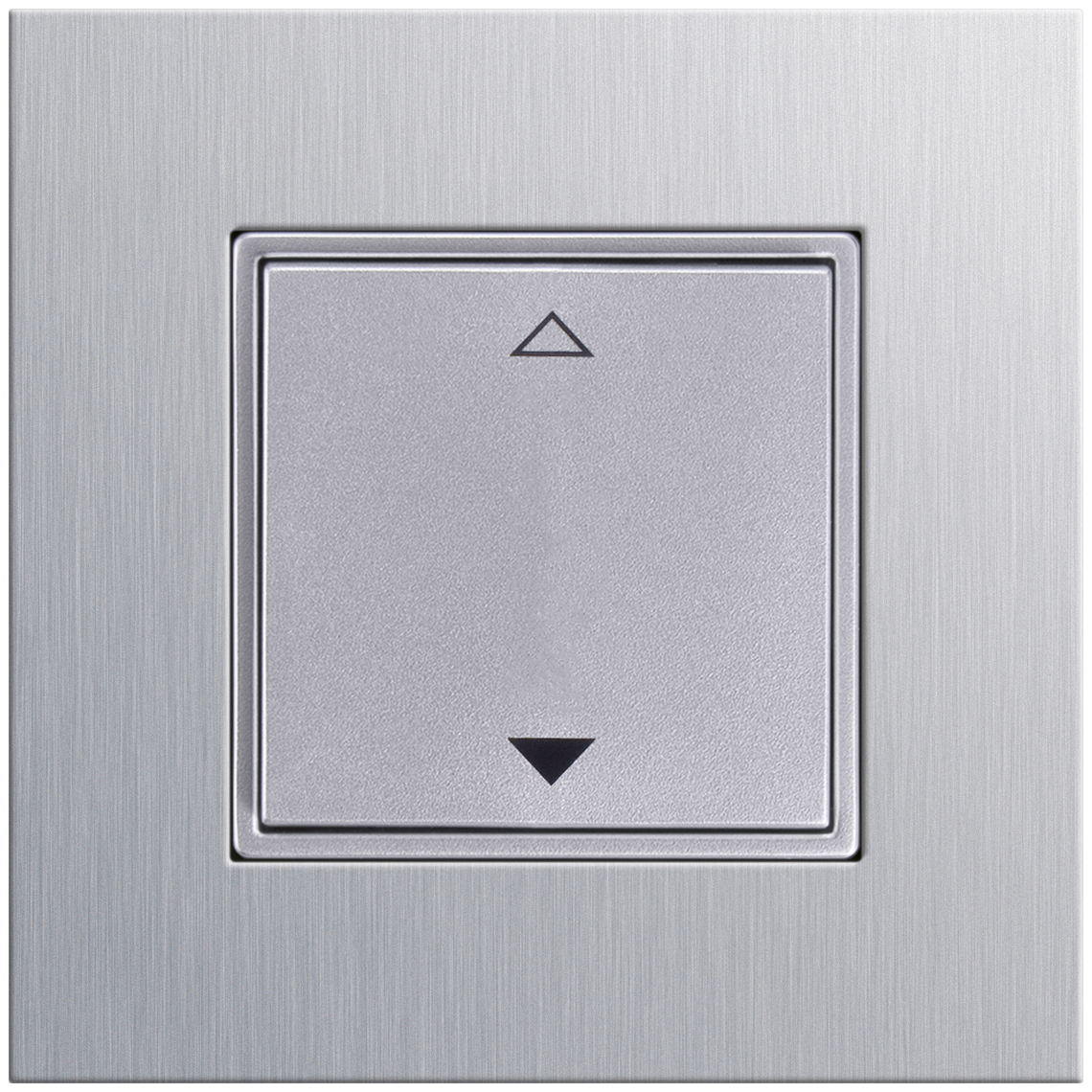 2-Kanal Jalousie Gira Esprit aluminium Produktbild