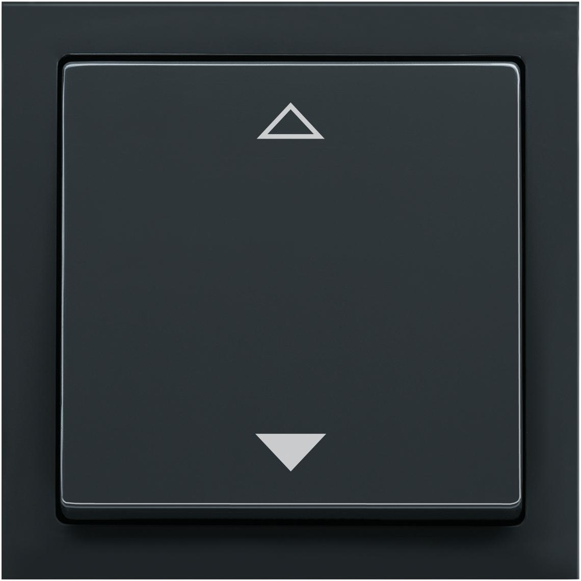 2-Kanal Jalousie Busch-Jaeger future® linear anthrazit Produktbild