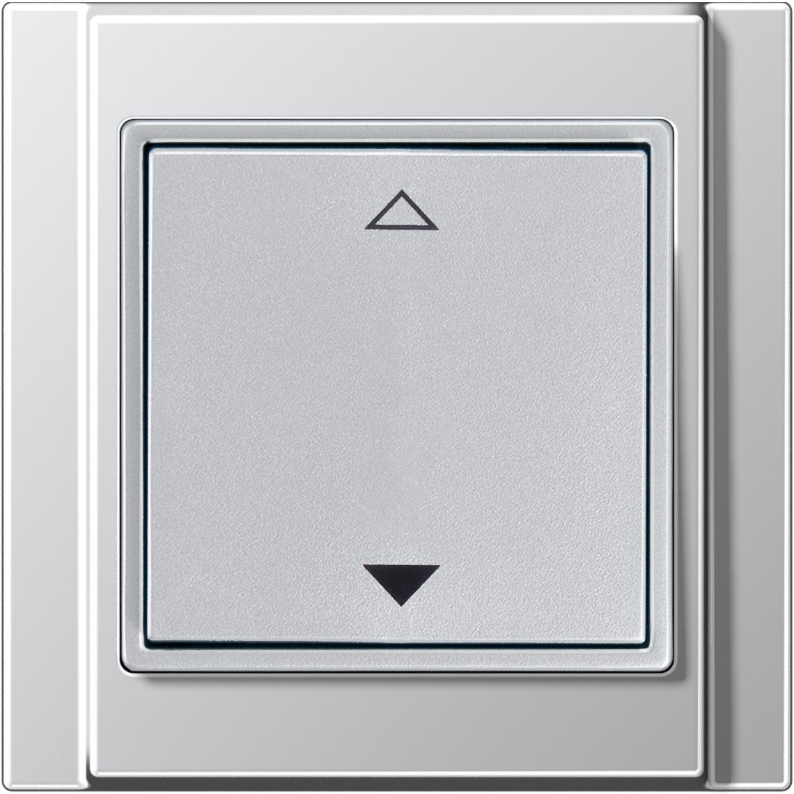 2-Kanal Jalousie Jung A 500 aluminium Produktbild