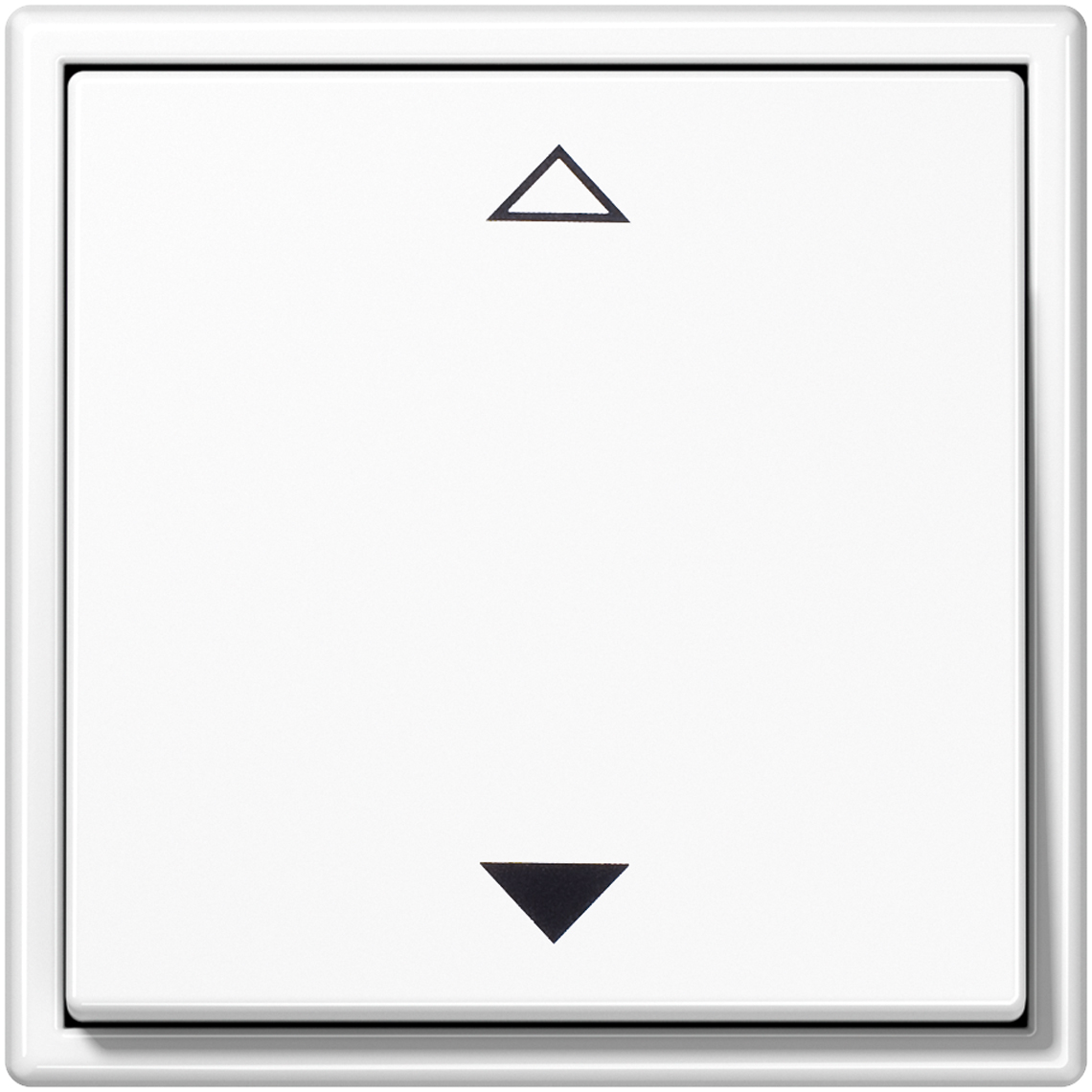 2-Kanal Jalousie Jung LS 990 alpinweiß Produktbild
