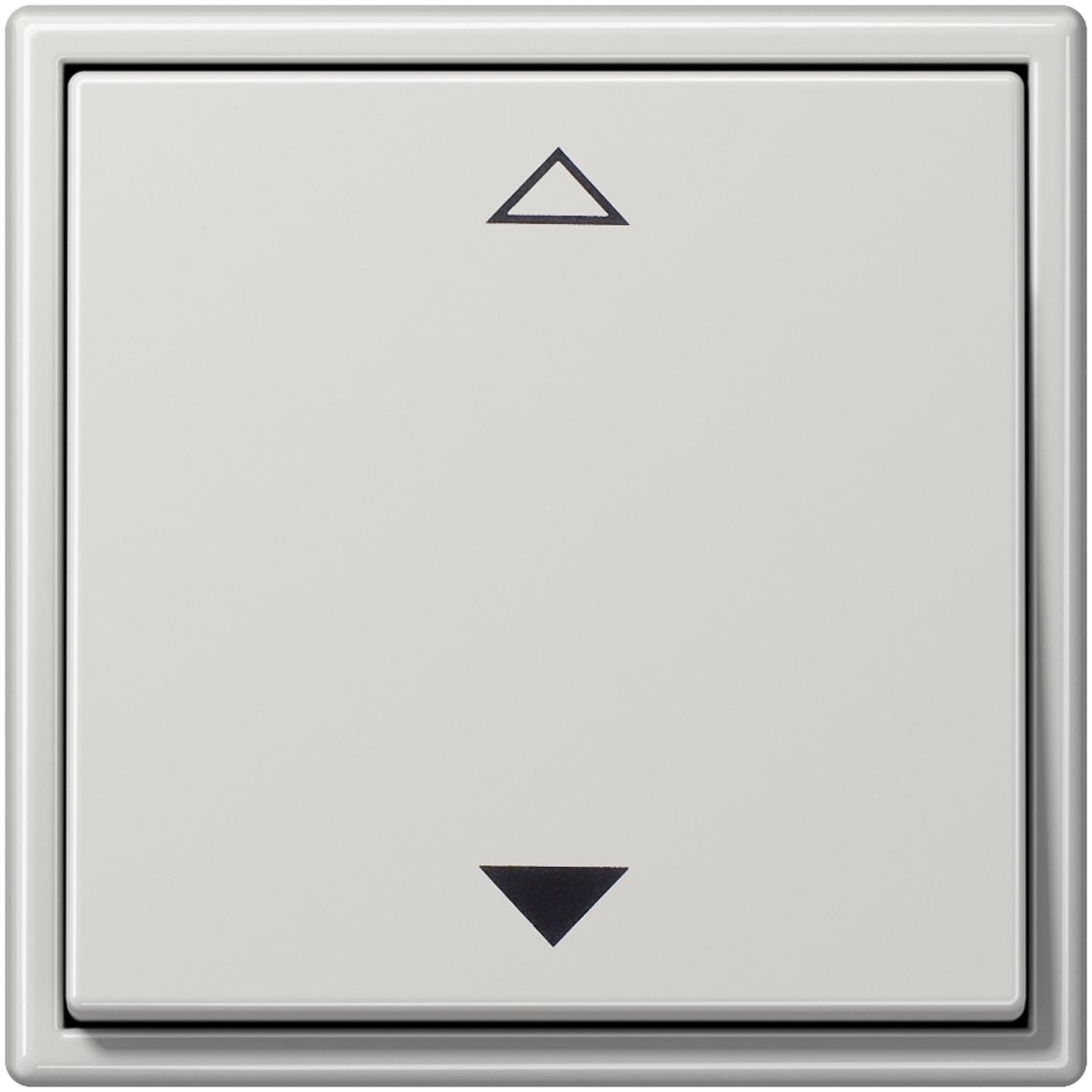 2-Kanal Jalousie Jung LS 990 lichtgrau Produktbild
