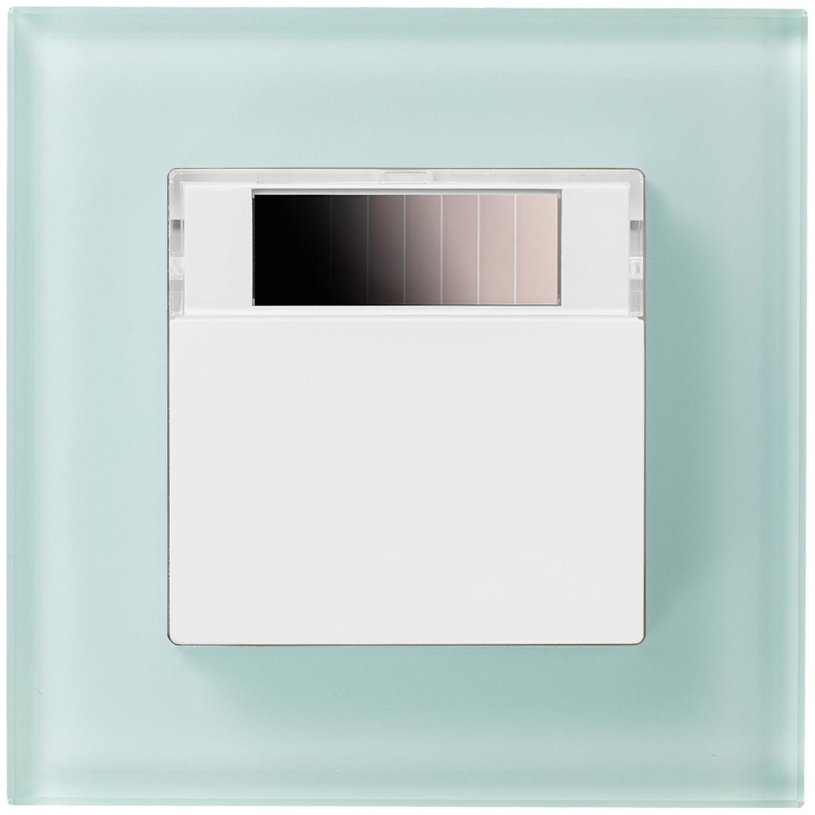 SR07 Gira Esprit reinweiß glänzend / Glas mint Produktbild