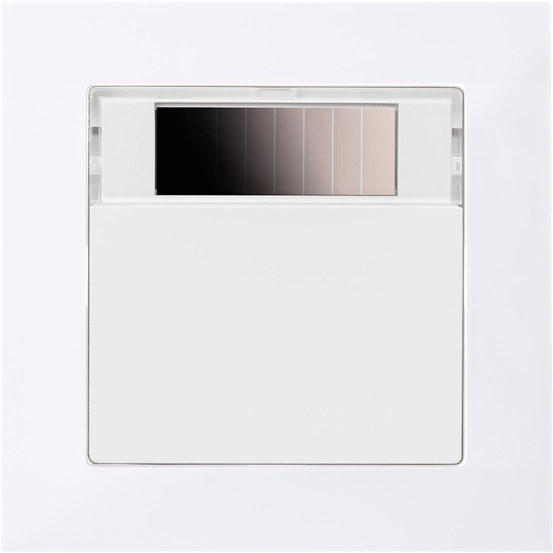 SR07 Merten M-Pure polarweiß glänzend Produktbild