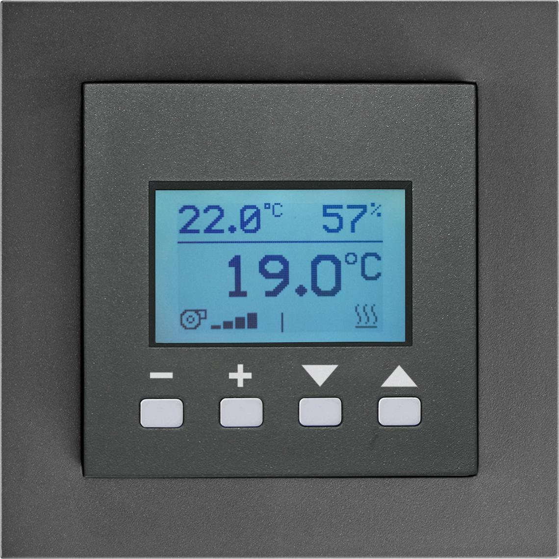 FTW06 LCD dS Gira E2 anthrazit Produktbild