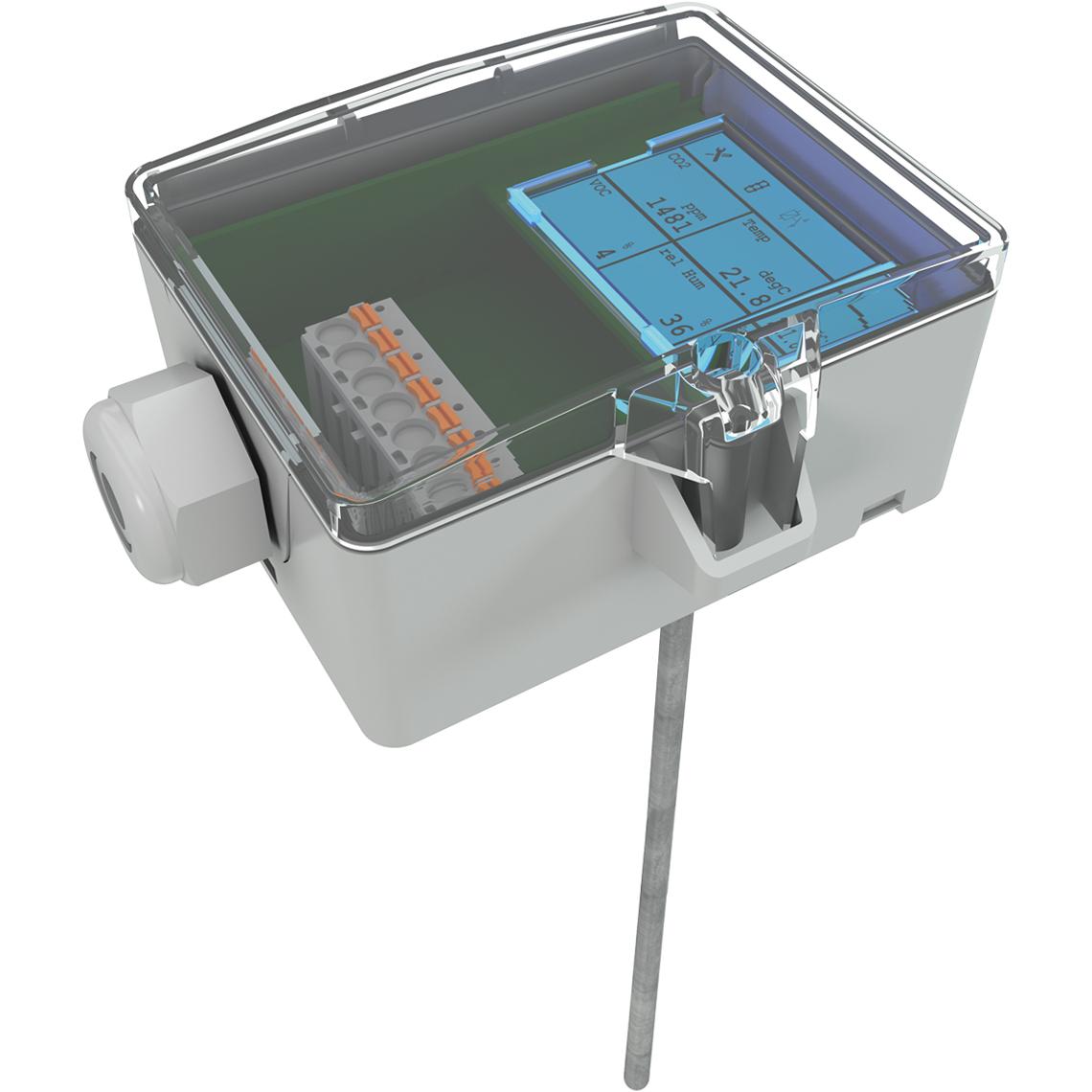 AKF10+ LCD RS485 BACnet 100.06 Produktbild