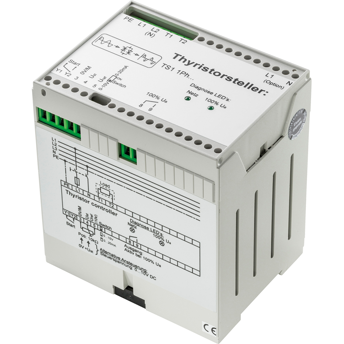 TS1 1-phasig SP 1-ph 6 A 1,38 kW Produktbild