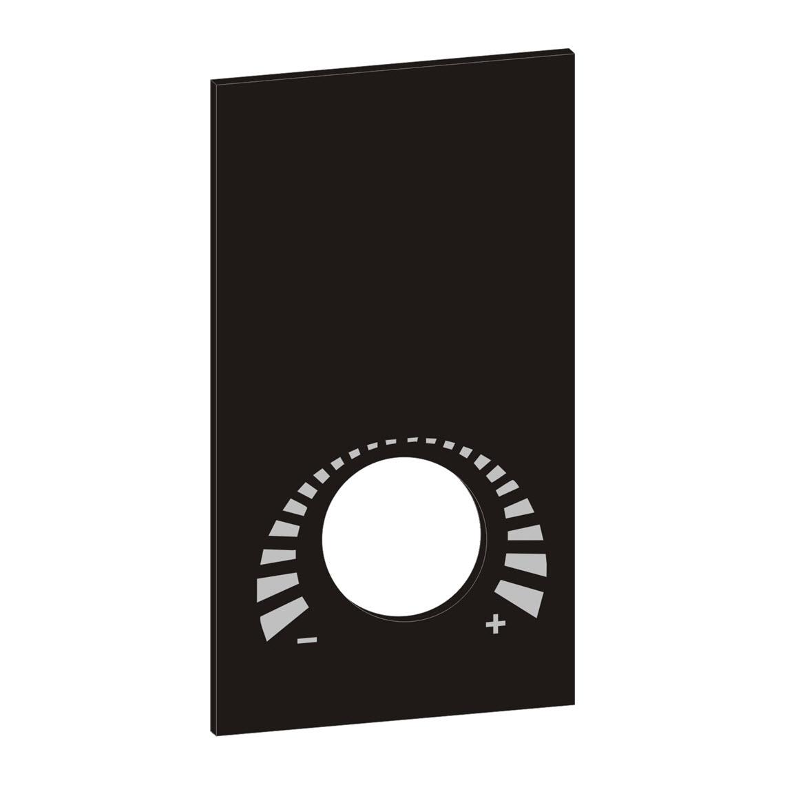Designblende NOVOS 3 P schwarz, BTypS Produktbild